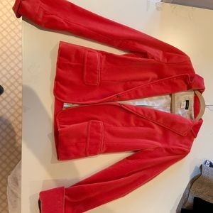 Red velvet J Crew Sports Coat